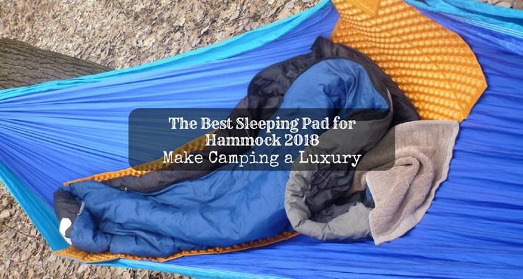 best sleeping pad for hammock