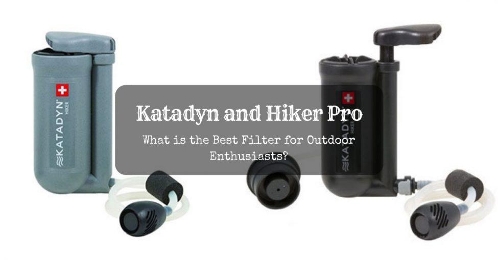 katadyn hiker vs hiker pro